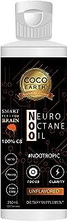 COCO EARTH Neuro Octane Oil 250ml - Pure C8 Caprylic   Ketogenic Smart fuel for Brain, 250 milliliters