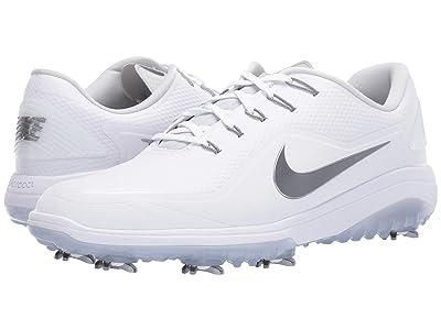 Nike Golf React Vapor 2 (White/Metallic Cool Grey/White/Black) Men
