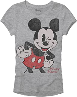 Mickey Mouse Womens Graphic Tee for Juniors Classic...