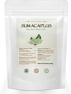 Slim Acai Berry | 250 tabletas veganas | 6000mg porción diaria | Para 40 días | Extracto puro, desintoxicación, quema de grasas, reducción de peso, dieta metabólica, purificación