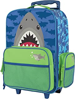 Stephen Joseph Classic Rolling Luggage, Shark