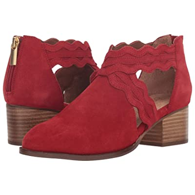 Seychelles All Together Bootie (Red Suede) Women