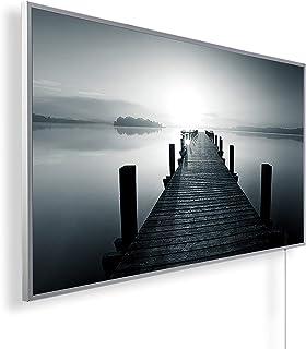 Könighaus - Calefacción por infrarrojos (calidad HD, con más de 200 imágenes de alta definición, con termostato, programa ...