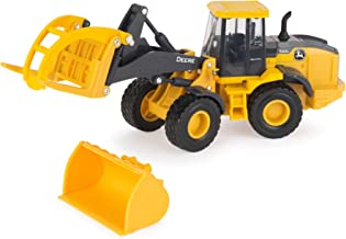 TOMY John Deere Loader Vehicle Toy for Kids, Yellow