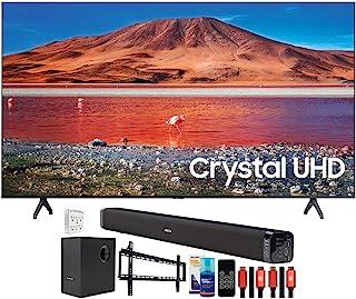 "SAMSUNG UN50TU7000 50"" 4K Ultra HD LED TV (2020) with Deco Gear Home Theater Bundle"