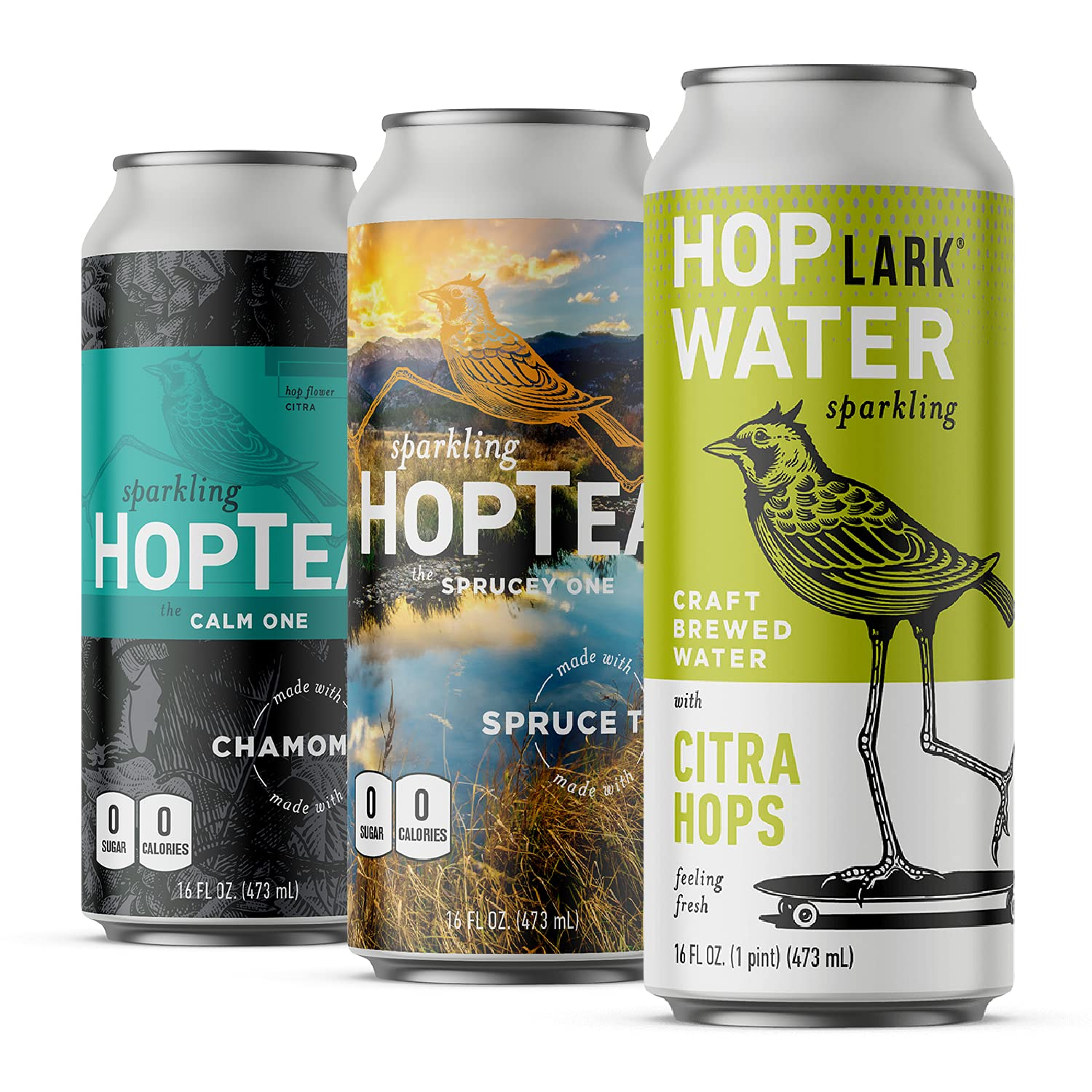 HOPLARK Sparkling HopTea - The Daily bargain sale Relax Craf Pack Limited price 12 Cans 16oz