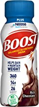 Boost Plus Complete Nutritional Drink, Rich Chocolate, 8 fl oz Bottle, 24 Pack