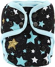 Sigzagor Newborn Baby Diaper Nappy Cover 8lbs-10lbs (Stars)