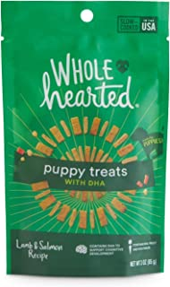 WholeHearted Lamb & Salmon Flavor Puppy Treats with DHA, 3 oz.