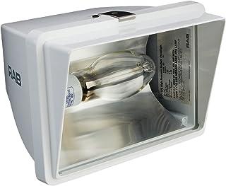6400 Lumens 70W Power Aluminum 120V Bronze Color RAB Lighting WP1CSH70 WP1 High Pressure Sodium Wallpack with Cutoff Glare Shield ED17 Type