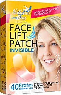 Face Lift Tape Face Lifting Patch Neck Double Chin V Shape Saggy Eye Invisible Thin Adhesive Face Lift Stickers Bands Instant Wrinkle Jowl Tightening Thinning Clear Makeup Tape