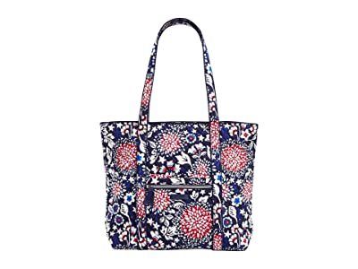 Vera Bradley Vera Tote (Red/White/Blossoms) Tote Handbags
