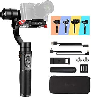 Hohem iSteady - Estabilizador de cámara sin Espejo para cámara compacta cámara sin Espejo cámara de acción y Smartphone