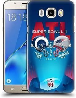 Head Case Designs Oficial NFL RAMS vs Patriots 3 2019 Super Bowl LIII Versus Carcasa rígida Compatible con Samsung Galaxy J5 (2016)