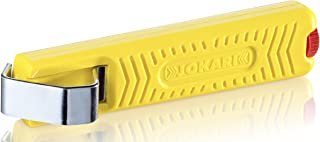 Jokari 10272 Standard Version Secura Cable Stripping Knife for All Standard Round Cables, No. 27, 13.2cm L x 2.9cm W x 3cm H