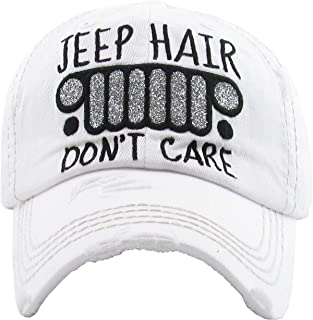 bf708c0d5 Funky Junque Womens Baseball Cap Distressed Vintage Unconstructed  Embroidered Dad Hat