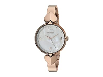 Kate Spade New York Hollis Stainless Steel Bangle Watch KSW1561 (Rose Gold) Watches