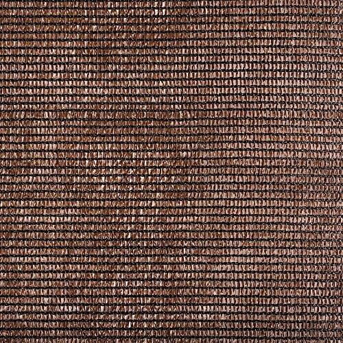 Catral 53010073 - Mini-Rollo - Malla Ocultación Total, - Marrón, 200x1000x4 cm