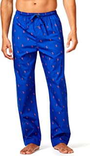 Polo Ralph Lauren Men's Woven Cotton All Over Pony Polo Player Pajama Pants