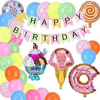 YQLM Babyparty-dekorationer, tatuering barn födelsedagsfest tillbehör, babyparty-partyballonger-mamma för inlindning, baby...