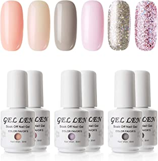 Best pink and gray glitter nails Reviews