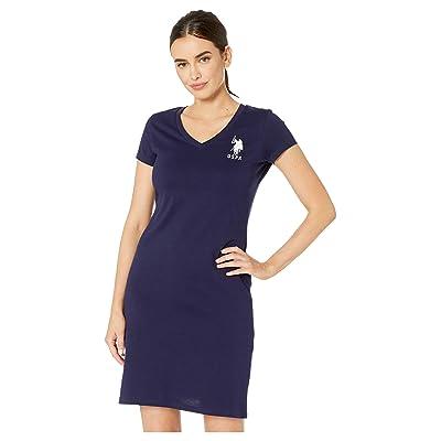 U.S. POLO ASSN. Sneaker Dress (Evening Blue) Women