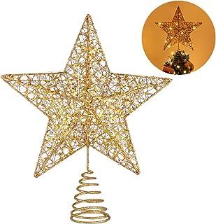 Wefond decorativa a LED Albero di Natale decorativa lampada da tavolo Lampada da tavolo decorativa a parete con illuminazione notturna per bambini