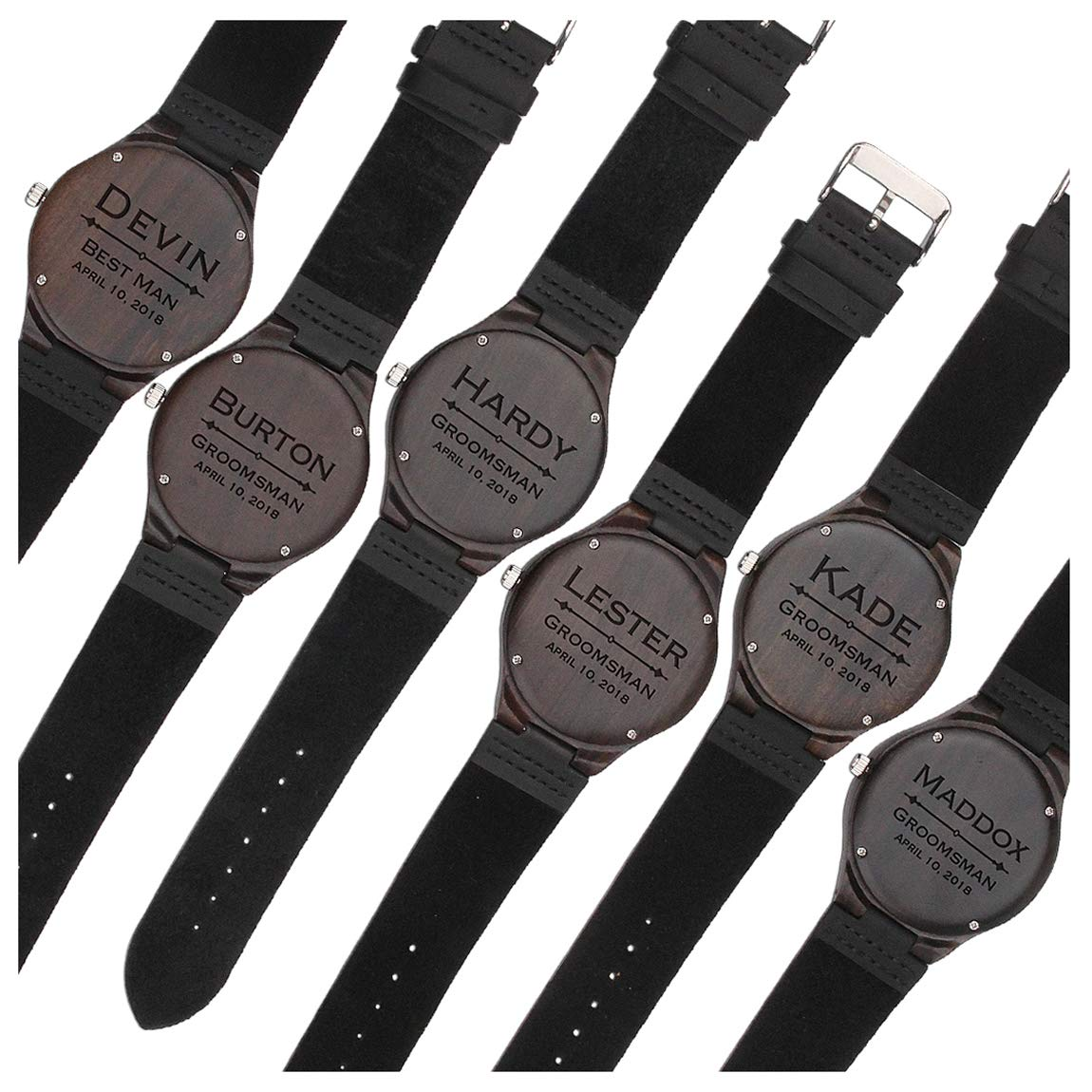 Groomsmen Gifts for Wedding Custom Engraved Wooden Watches for Men Personalized Groomsmen Gifts Ideas  sc 1 st  Amazon.com & Menu0027s Groomsmen Gifts: Amazon.com