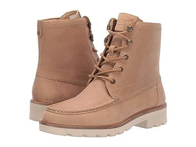 Sperry A/O Leather Lug Boot (Sand) Women
