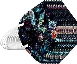 N / P, Unidades Tela adultoUnisex 5 Capa Bufanda,Desechables de Filtro de Elásticos Para Mujeres Hombres, Dibujos Animados Patrón de Camuflaje 10/20/30/50/100