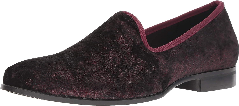 Stacy Adams Mens Sultan Velour Slip-on Loafer