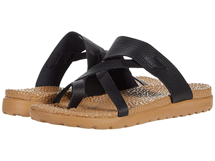 Acorn  Everyweartm Riley Sandal (Black) Womens Sandals