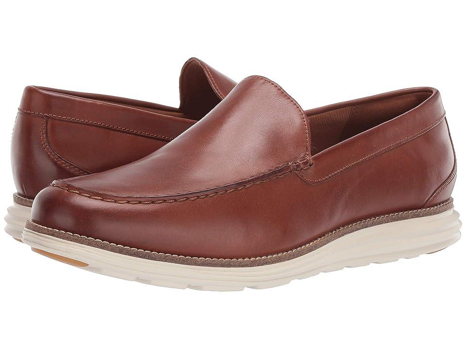 Cole Haan Original Grand Venetian (British Tan Leather/Ivory) Men