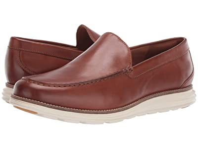 Cole Haan Original Grand Venetian (British Tan Leather/Ivory) Men