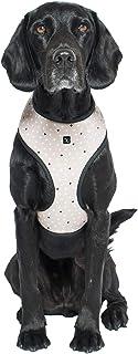 MOG & BONE Neoprene Dog Harness Oatmeal Cross Print Small