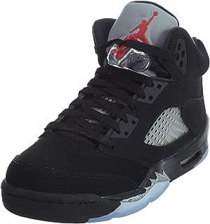 Jordan Kids' Nike Air 5 Retro Og Bg Lack/Silver 845036-003