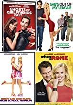 Some Quirky Romantic Movies / Romy & Michele's High School Reunion / Ghosts of Girlfriends Past / She's Out of My League / When in Rome 4 Feature Fun Film Pack