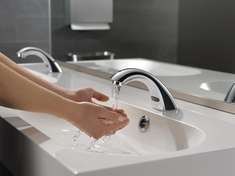 delta touchless bathroom faucet