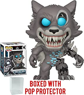 Funko Pop! Books: Five Nights at Freddy's The Twisted Ones - Twisted Wolf Vinyl Figure (Bundled with Pop Box Protector Case)