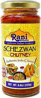 Rani Schezwan Chutney 8.8oz (250g) Glass Jar ~ No Colors | Non-GMO | Vegan | Gluten Free | Indian Origin (Indo-Chinese)
