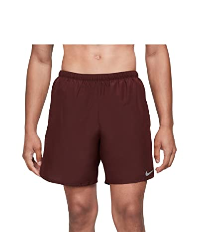 Nike Dri-FITtm Challenger Shorts 7 Brief (Mystic Dates/Reflective Silver) Men