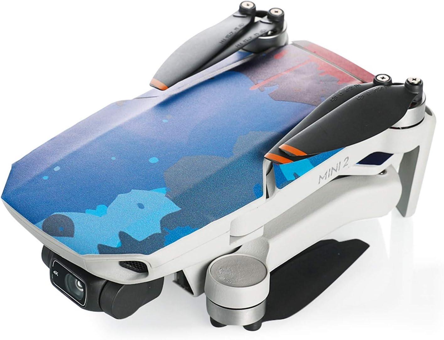 Mavic Mini 2 Skin Stickers,Waterproof PVC Stickers fofr Mavic Mini 2,DIY Decal Skin Cover Protector for DJI Mavic Mini 2 Drone Body /& Controller Accessory