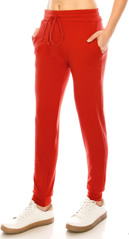 Always Women Drawstrings Joggers Pants  Super Soft Fleece Warm Sweatpants