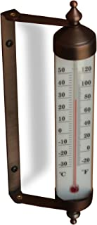 Bjerg Instruments Adjustable Angle 10 Inch Garden Thermometer (Bronze)
