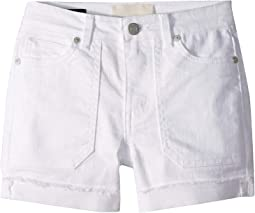 Tulia Frayed Cuffed Shorts (Big Kids)