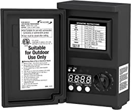 Malibu LED 45watt Outdoor Low Voltage Transformer with Digital Timer and Photo Eye for DIY Outdoor Landscape Lighting