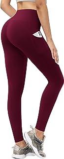 TQD High Waist Yoga Pants, WorkoutCapri Leggingswith Pockets Tummy Control 4 Ways Stretch, Yoga Pants for Women