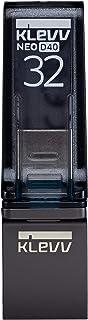 KLEVV USBメモリ 32GB USB3.2 Gen1 タイプC タイプA 両対応 NEO D40 ブラック K032GUSB4-D4