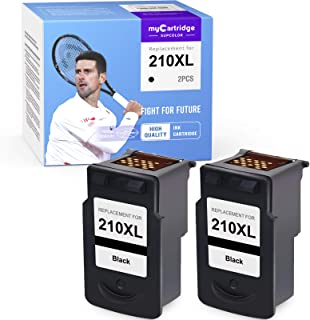myCartridge SUPCOLOR Remanufactured Ink Cartridge Replacement for Canon 210XL PG-210XL 210 XL for PIXMA IP2702 MX320 MX330...