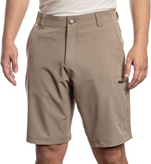 ZEROXPOSUR Men's Stretch Travel Short ~ Color: Oak (34)